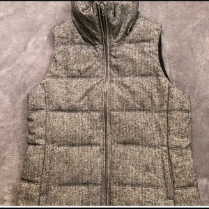 Old Navy Herringbone Fleece Lined Vest Size Small